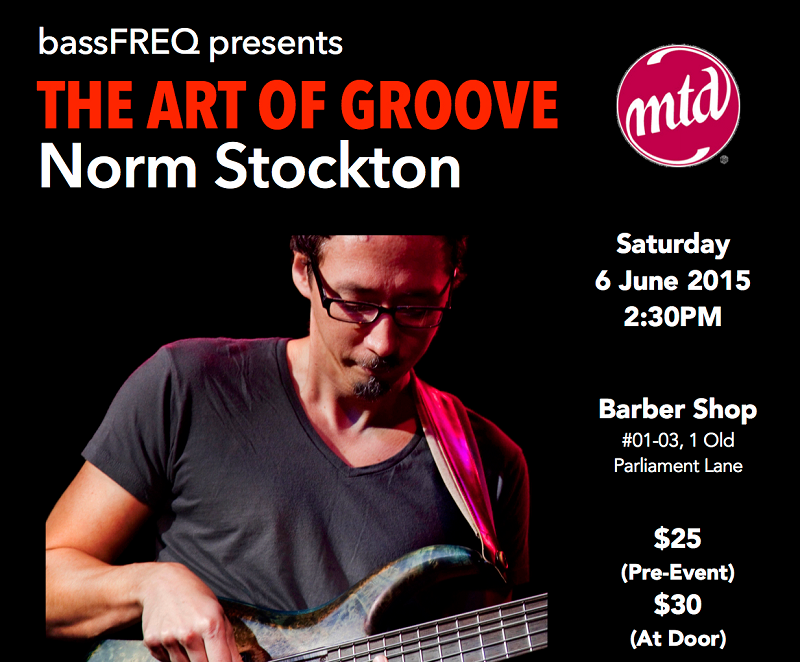 The Art of Groove - Bass Masterclass by Norm Stockton