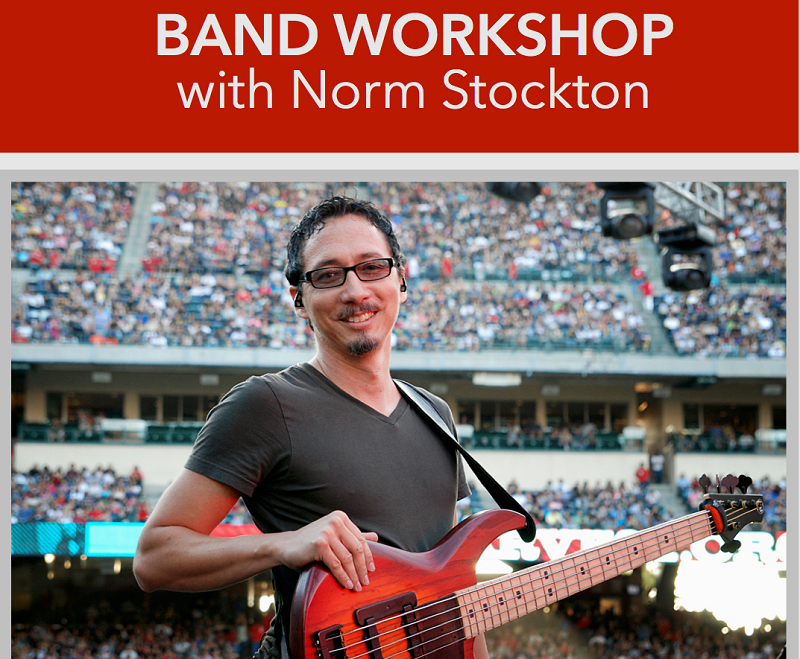 Band Workshop for Church Music Teams with Norm Stockton
