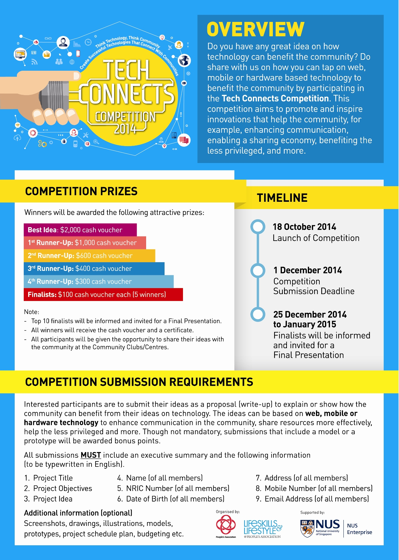 Tech Connects Competition - Tech Connects Competition