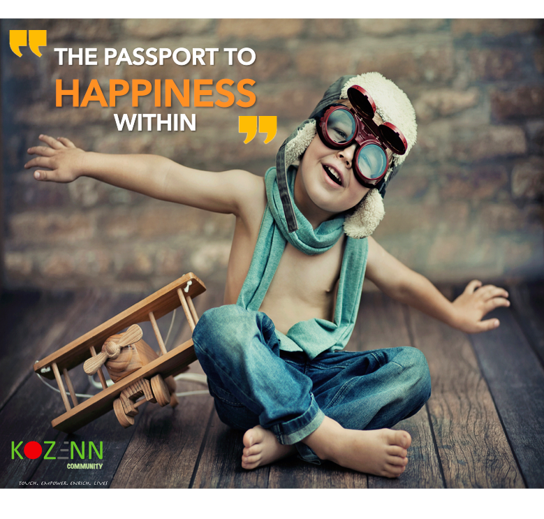 The Passport To Happiness Within