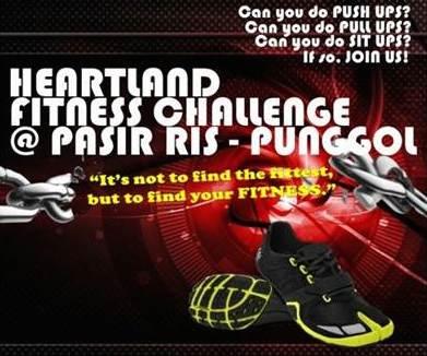 Heartland Fitness Challenge @ Pasir Ris Punggol