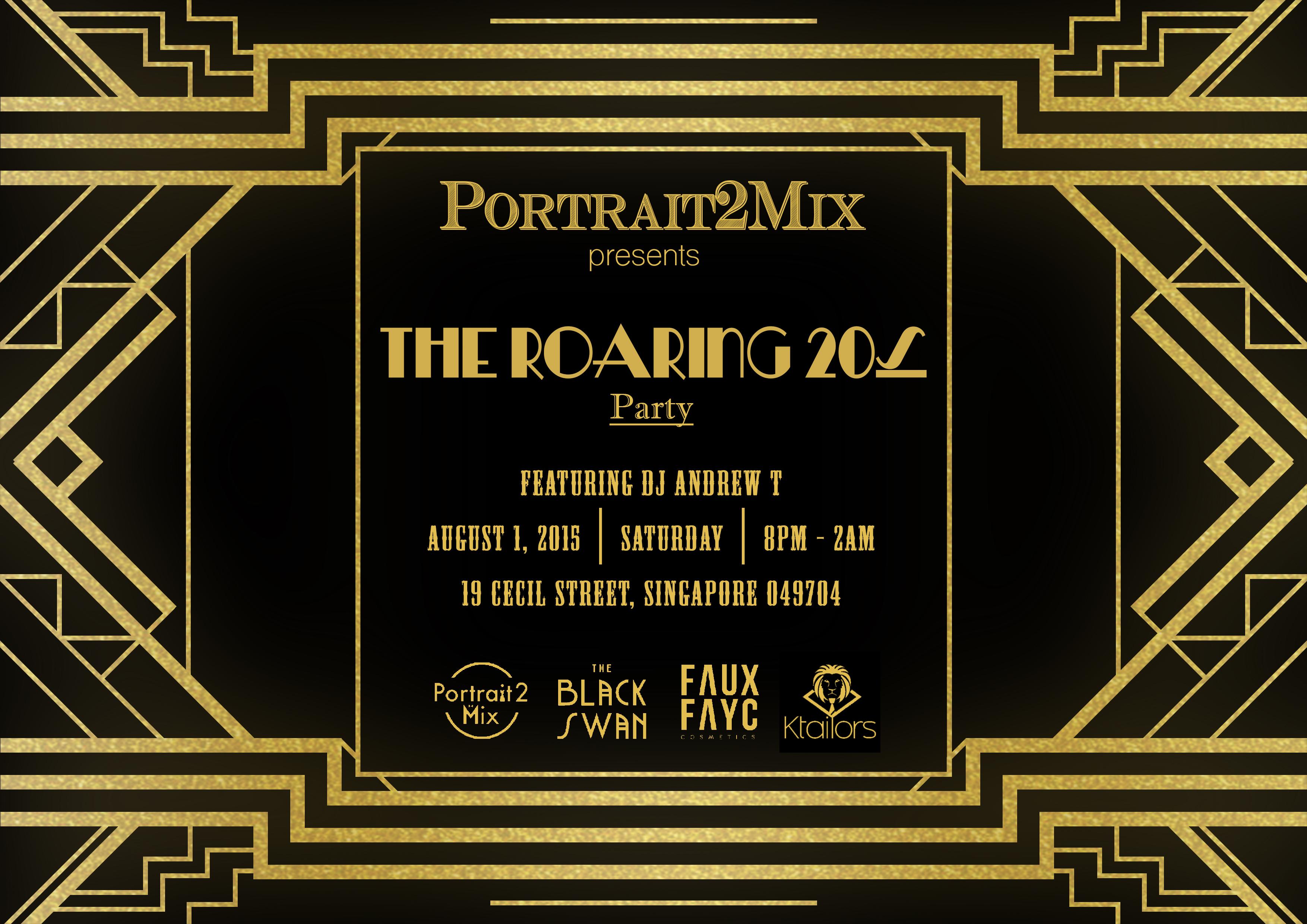 The Roaring 20s Party Registration, Singapore - EventNook