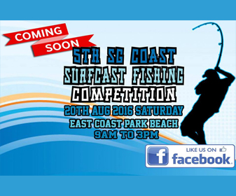 Singapore 5th Beach Fishing Championship 2016