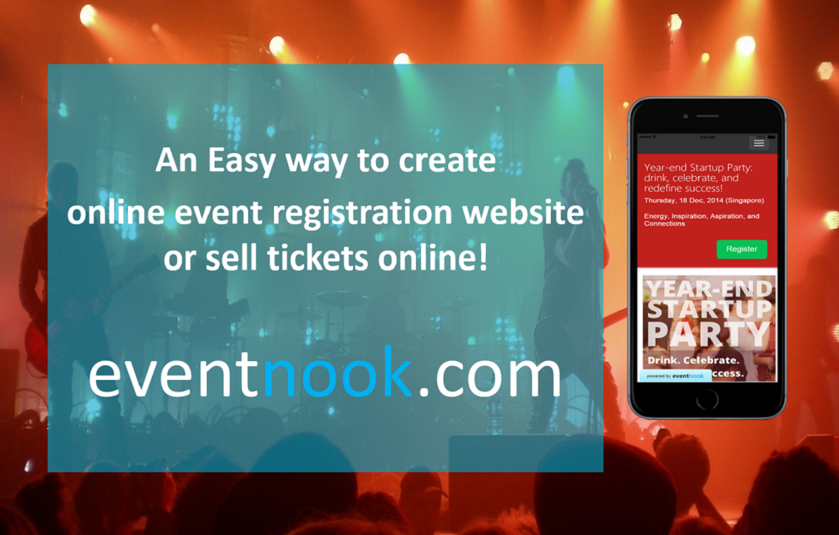 EventNook - Online Event Registration and Event Ticketing