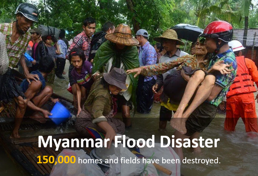 Donation for Myanmar Flood Relief