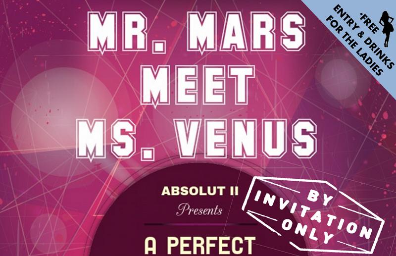 MR. MARS MEET MS. VENUS
