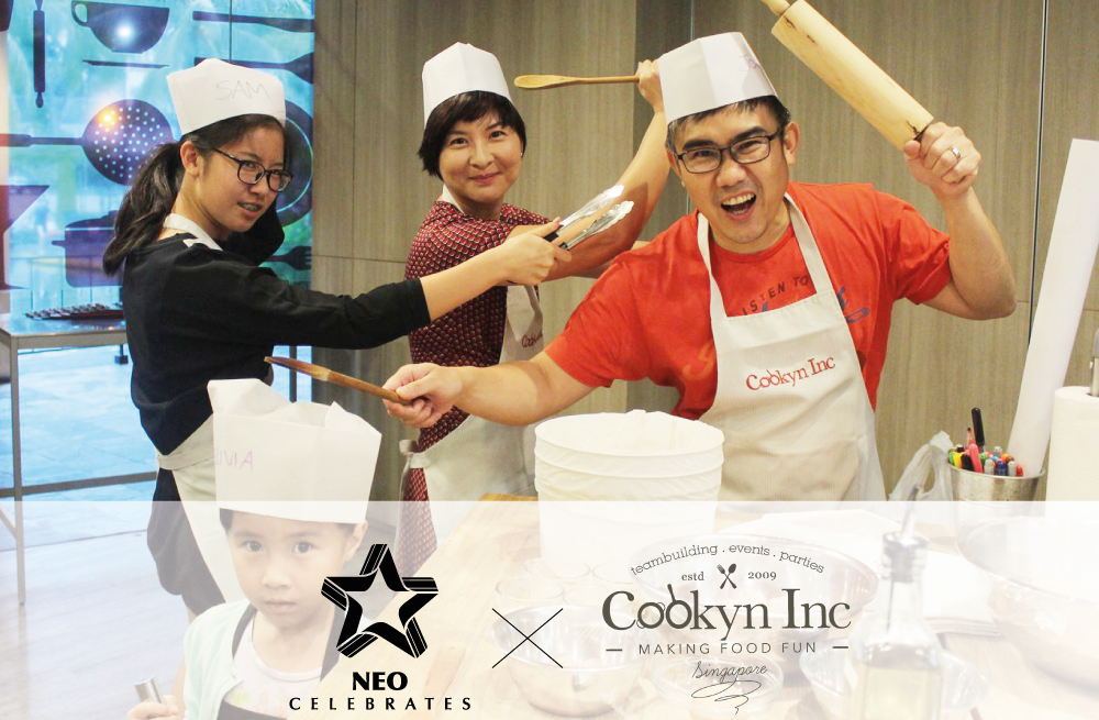 Neo Celebrates x Cookyn Inc Cooking Workshop