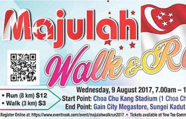 Majulah Walk & Run 2017