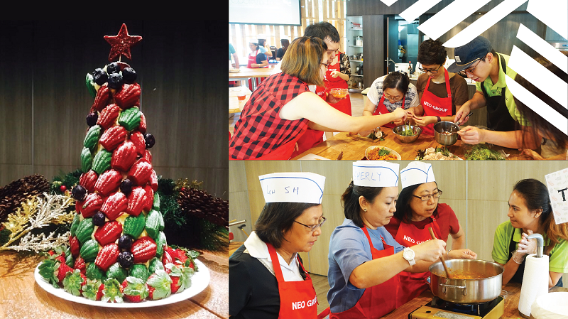 Neo Celebrates x Cookyn Inc Christmas Workshop