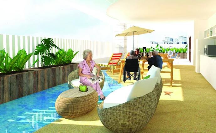 A Collective Dialogue about the Transformation of Spaces: Eldercare in the New Age