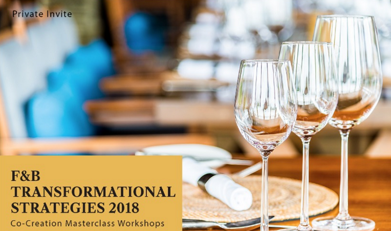F&B Transformational Strategies 2018 Seminar