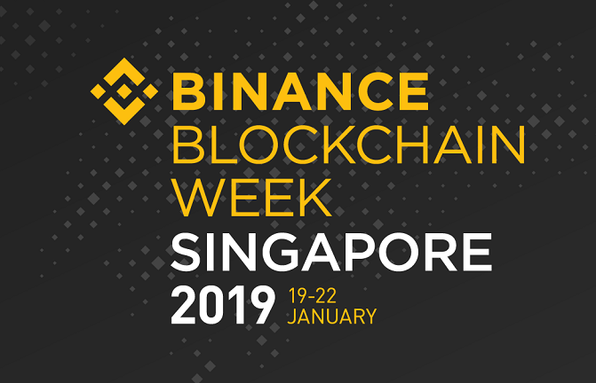 Binance Blockchain Week Singapore 2019