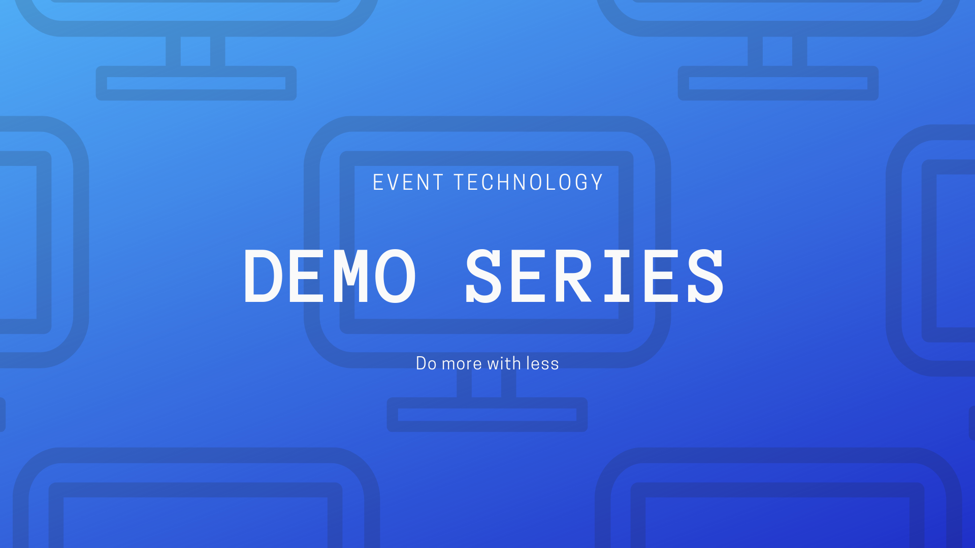 EventNook Demo Series