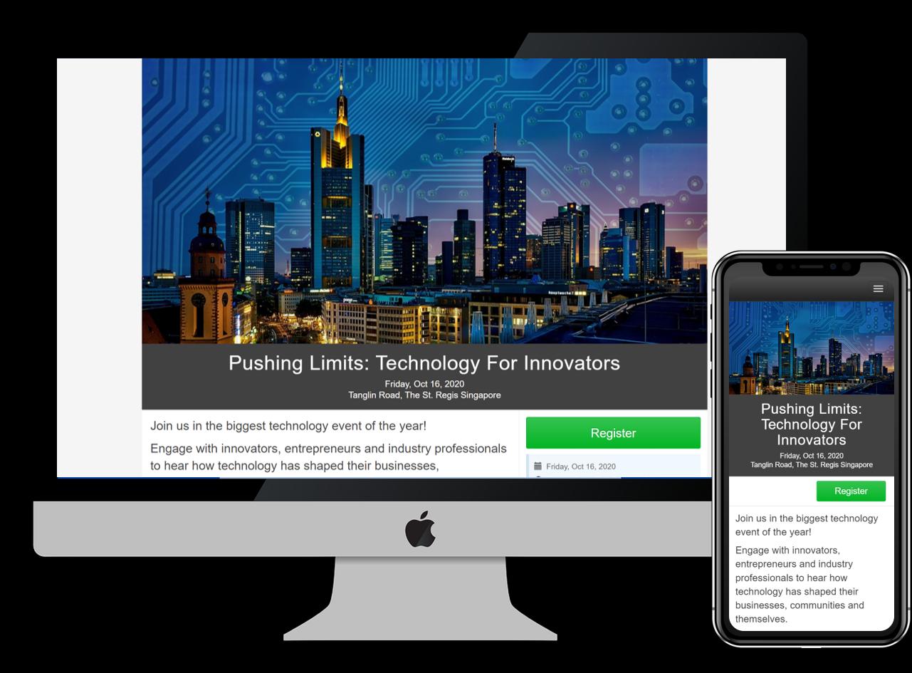 EventNook Online Registration for Virtual Events