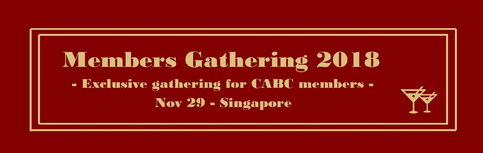 CABC Members Gathering 2018 Banner Image