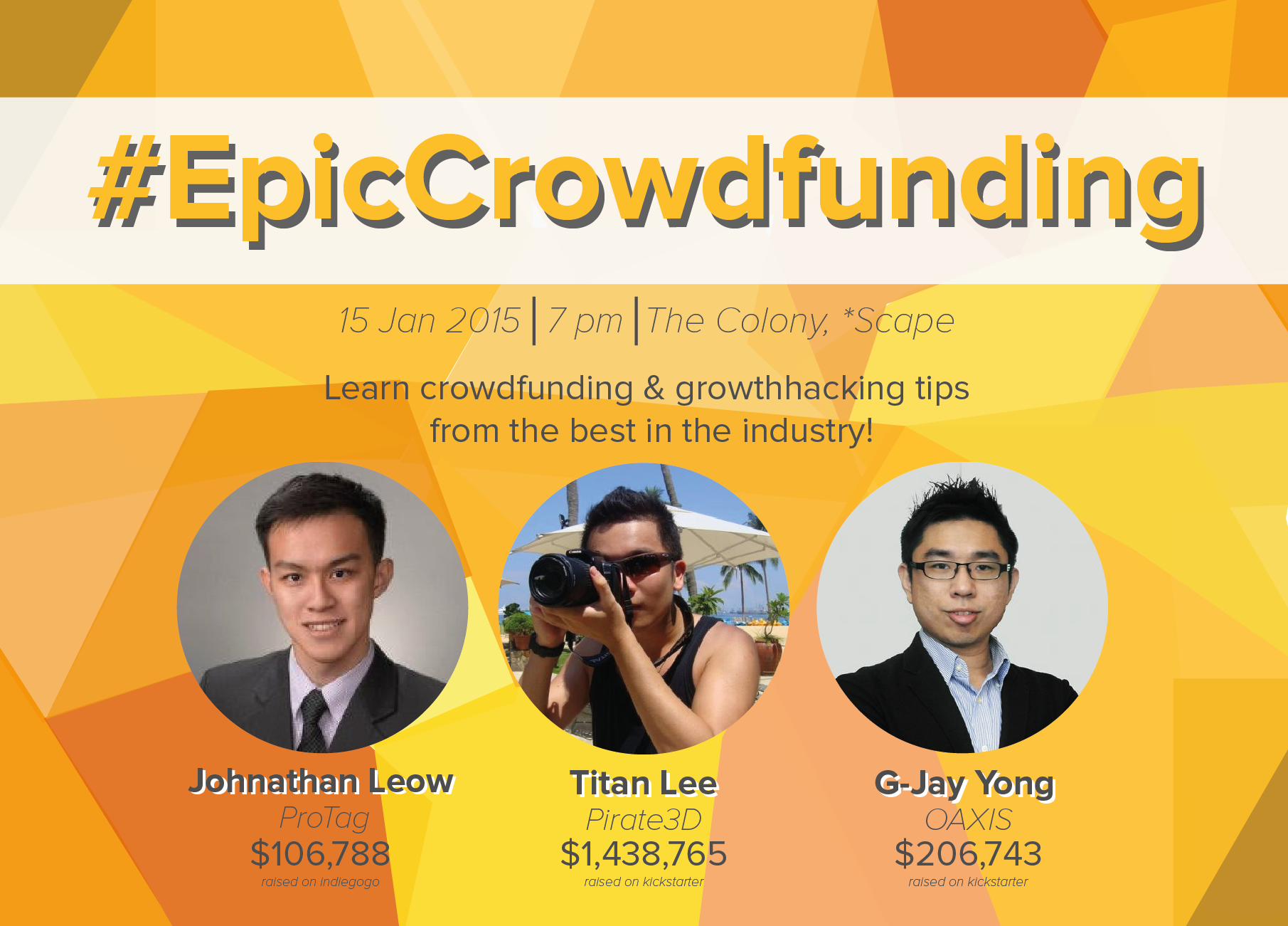 #EpicCrowdfunding – How to launch your campaign