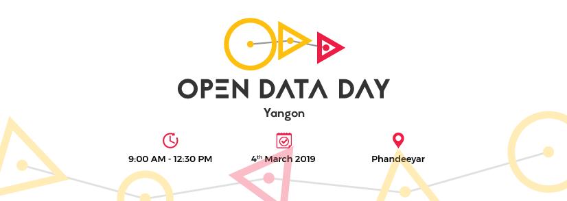Open Data Day Yangon Banner Image