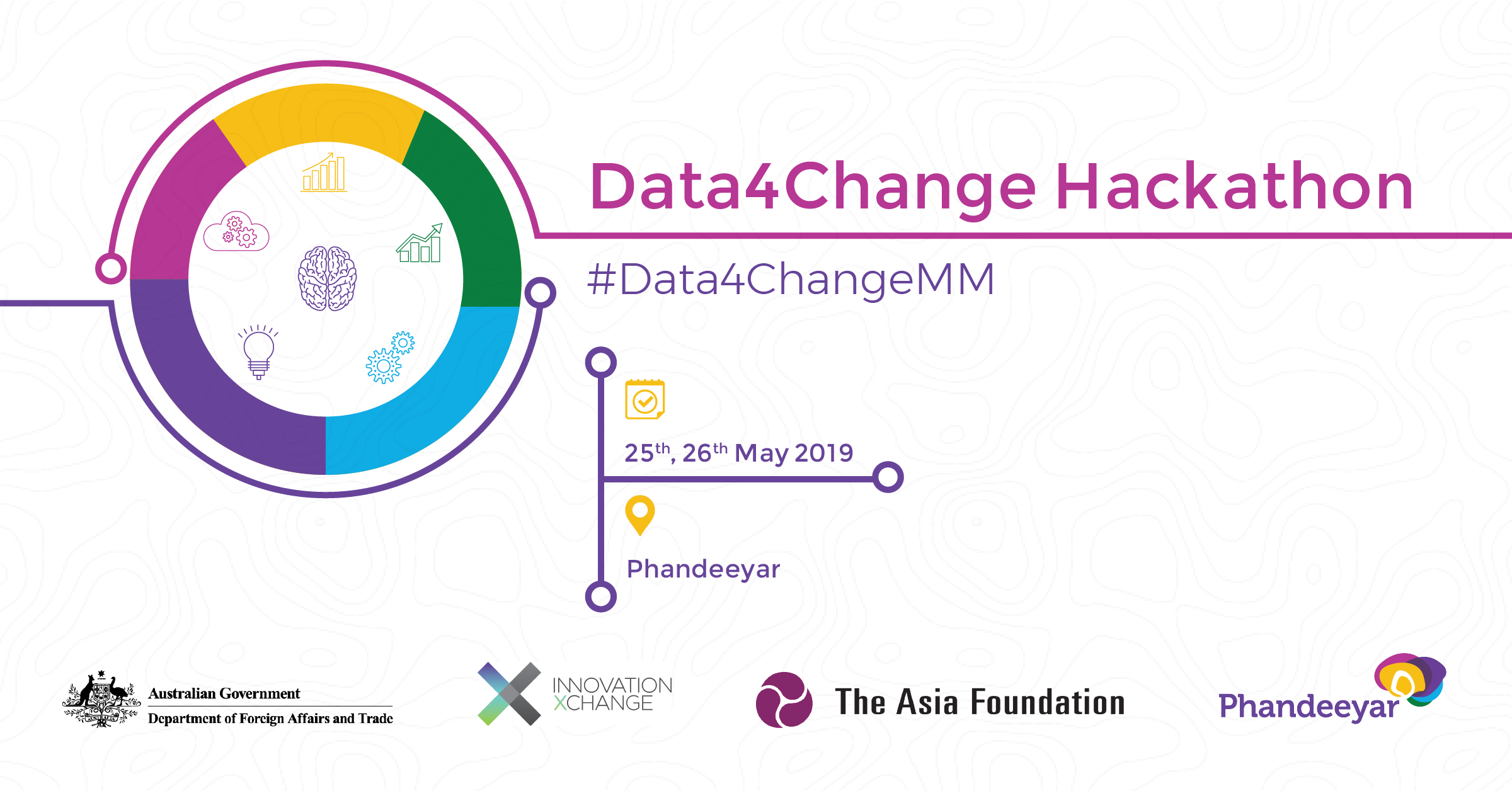 Data4Change Hackathon Banner Image