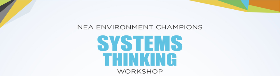 NEA Environment Champion Workshop Series 2015 - Module: Systems Thinking Banner Image