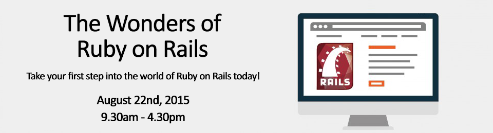 The Wonders of Ruby on Rails Banner Image