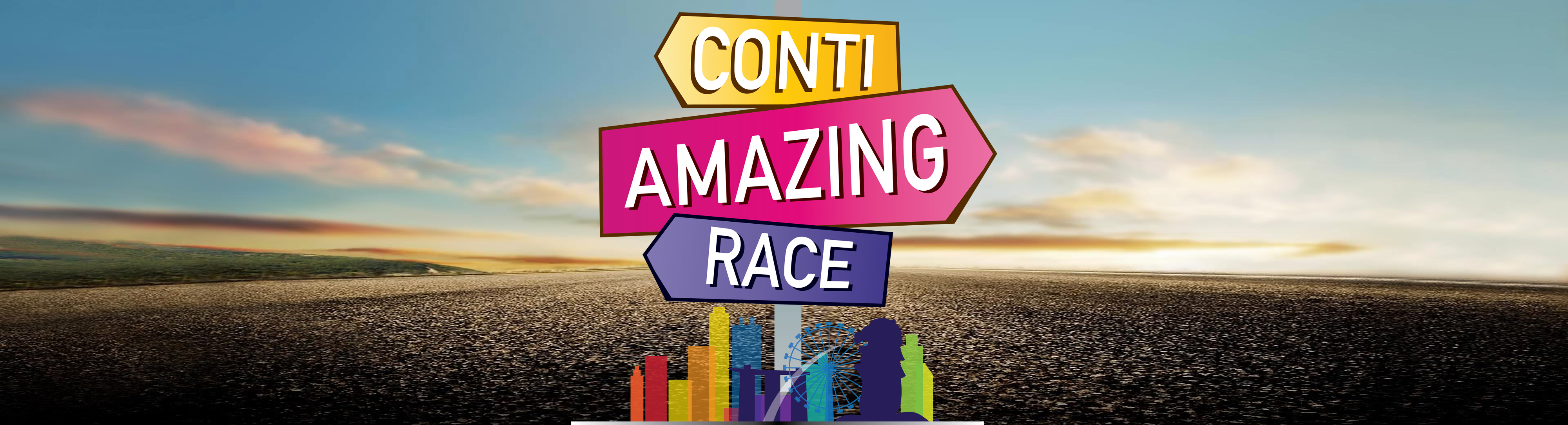 Continental Amazing Race Banner Image