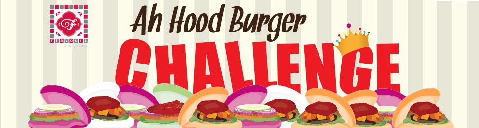 Ah Hood Burger Challenge Banner Image