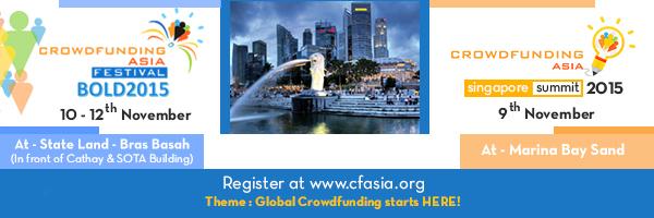 Crowdfunding Asia - Singapore Summit Banner Image