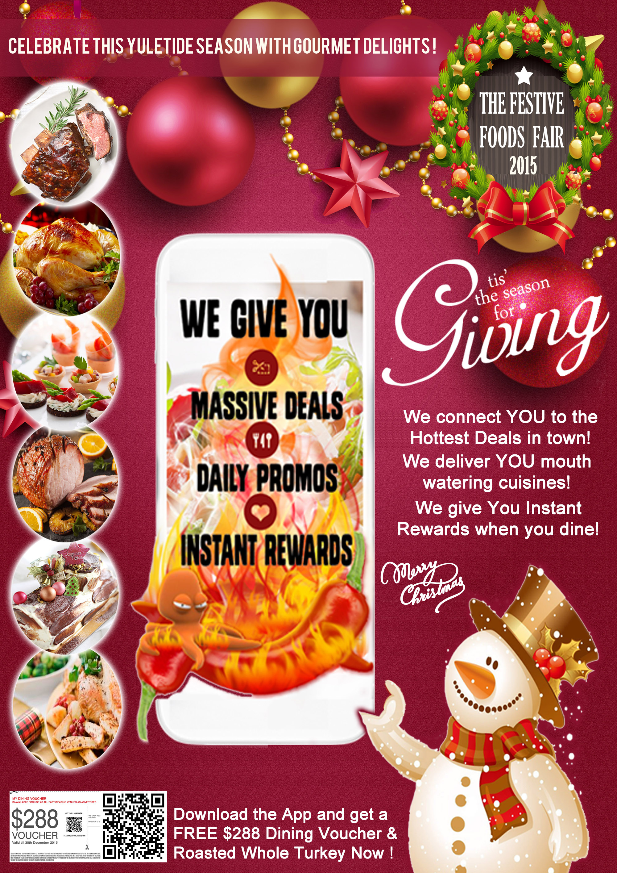 Christmas Festive Foods Fair with Free $288 Food Vouchers ...