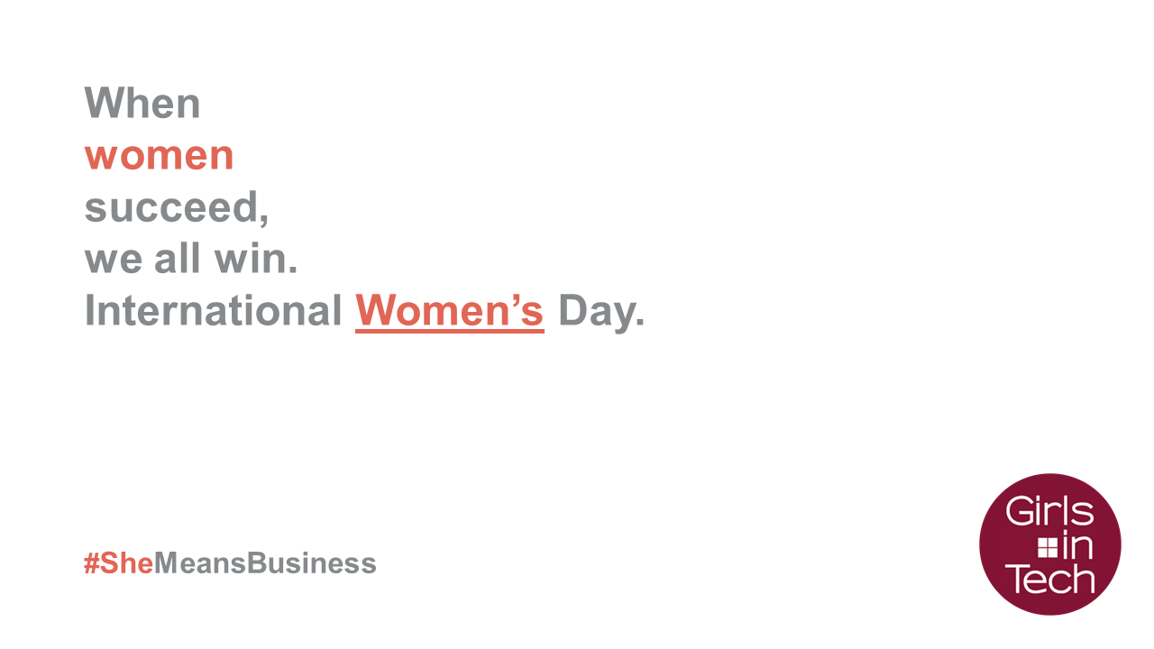#IWD2017 Empowering Women in Business Banner Image