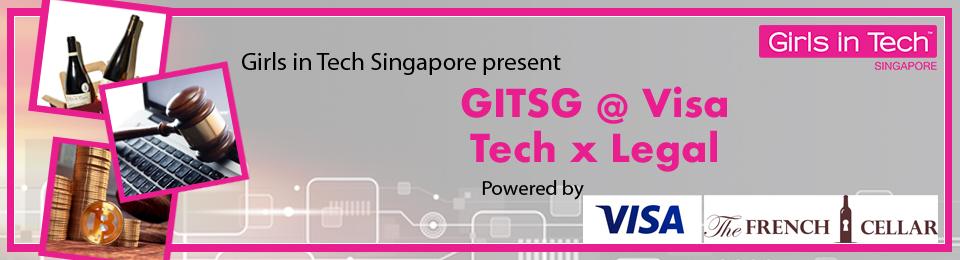 GITSG @ Visa: Tech x Legal Banner Image