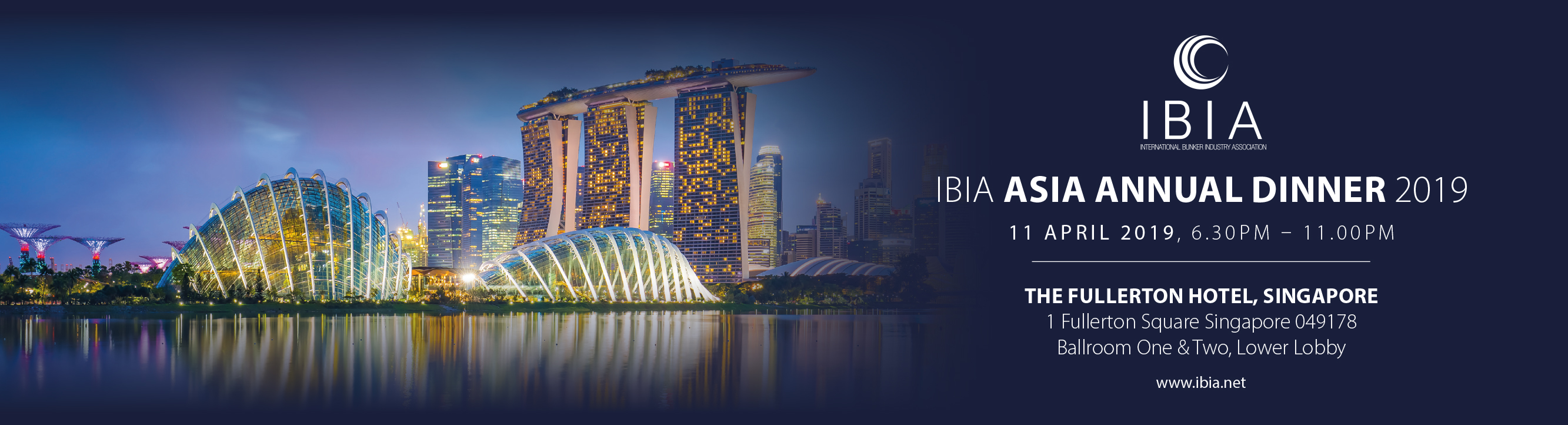 The IBIA Asia Annual Dinner 2019 Banner Image