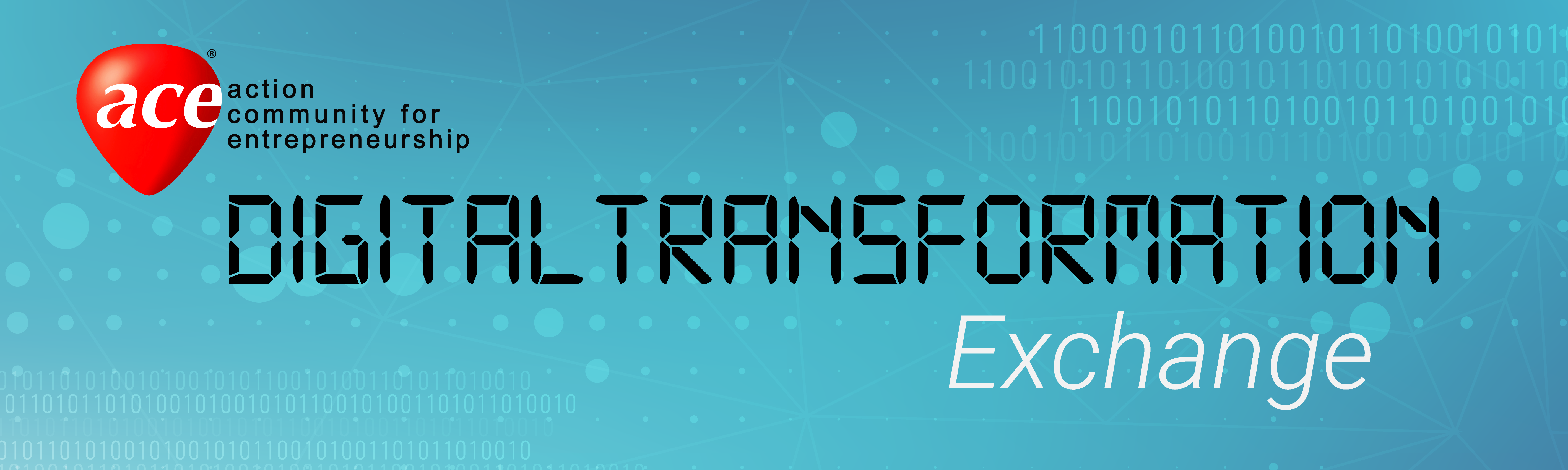 ACE Digital Transformation Exchange: Sales & CRM Solutions Banner Image