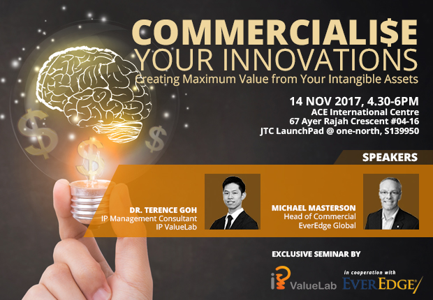 Commercialise Your Innovations by IP Value Lab Banner Image