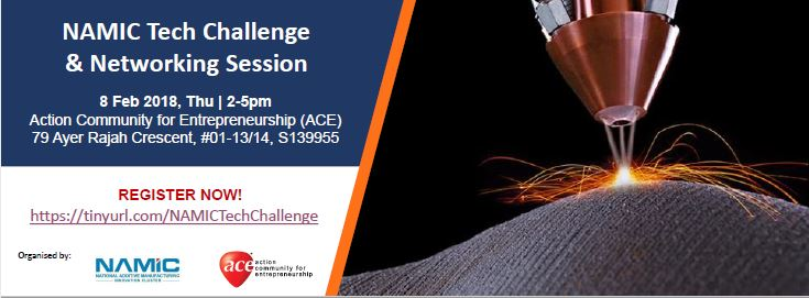 NAMIC Tech Challenge & Networking Session Banner Image