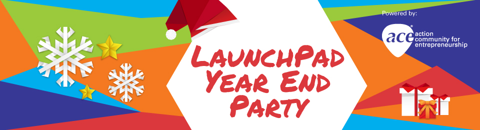 LaunchPad Year End Party 2018 Banner Image