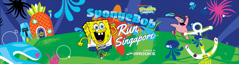 SpongeBob Run Singapore Banner Image
