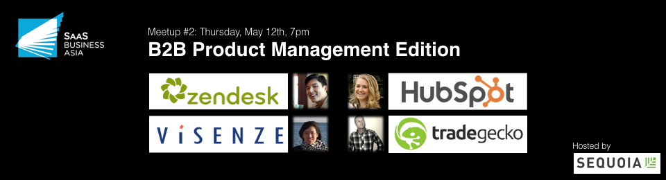 SaaS Business Asia Meetup #2: B2B Product Management Edition Banner Image
