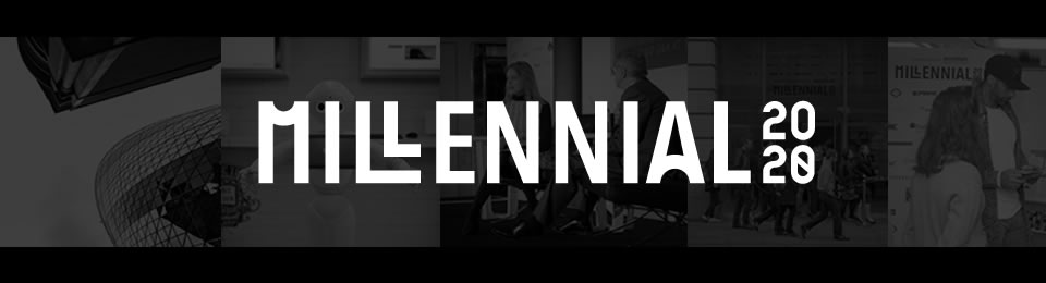 Millennial 20/20 London 2017 - General Admission £550 / Startup Admission £250 Banner Image