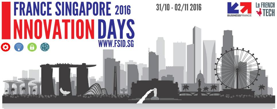 France Singapore Innovation Days 2016 Banner Image
