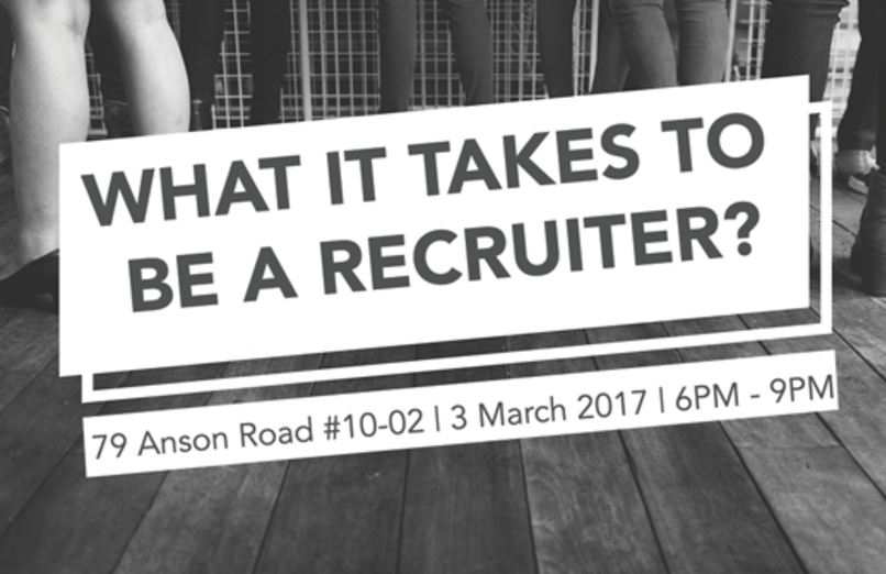 What It Takes To Be A Recruiter? (For NYP Students Only)