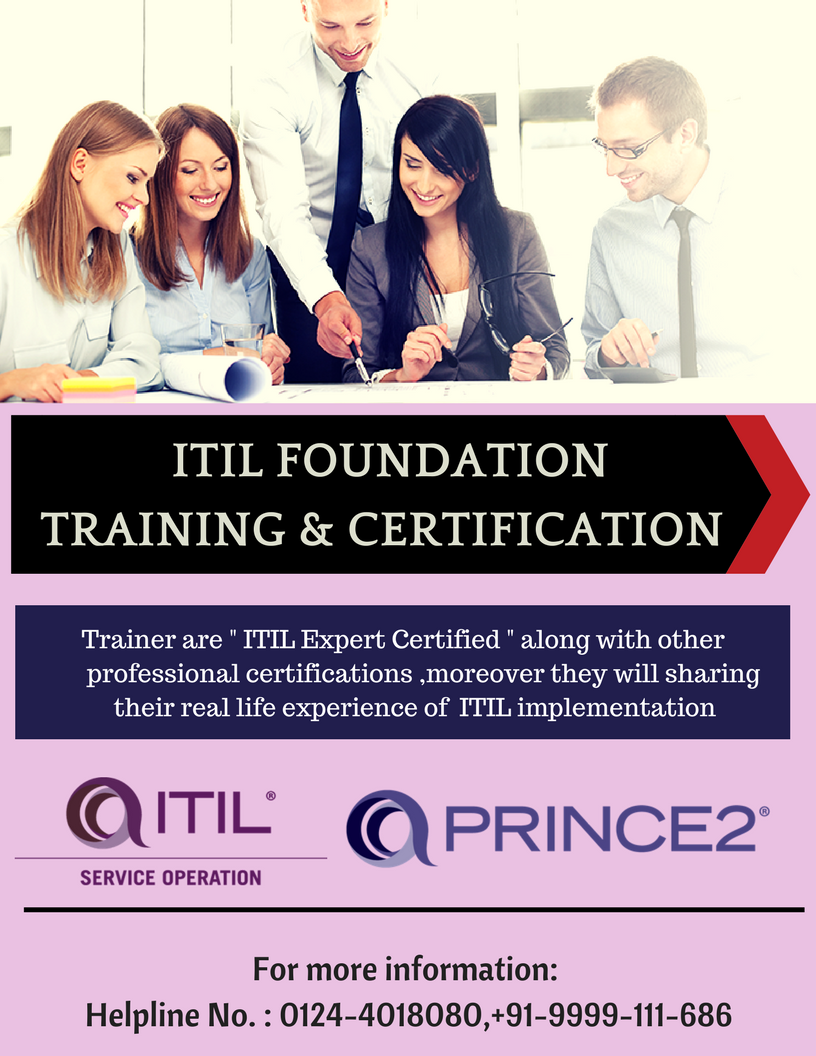 Itil Training In Delhi Itil Training Institute In Delhi