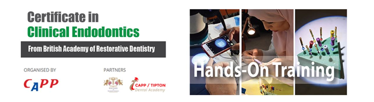 Postgraduate CERTIFICATE in Clinical Endodontics (Module 1-3) Group 1 Banner Image