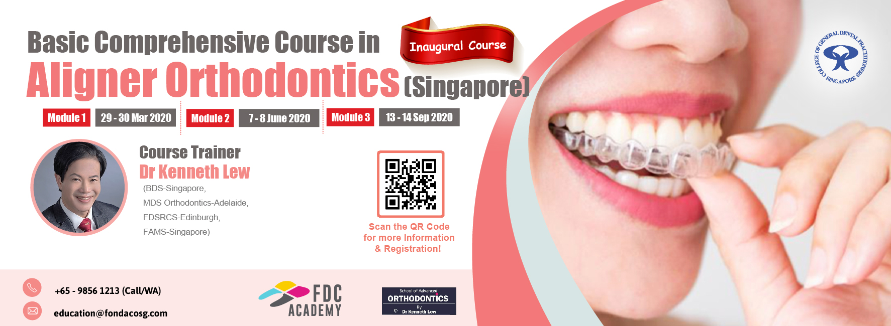 Basic Course in Aligner Orthodontic Banner Image