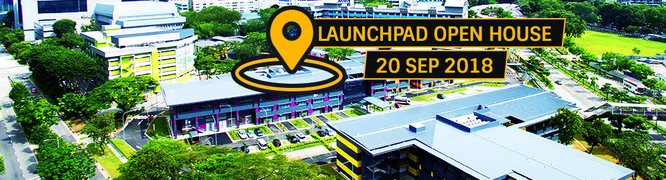 LaunchPad Open House 2018 (associated partner event of SWITCH 2018) Banner Image