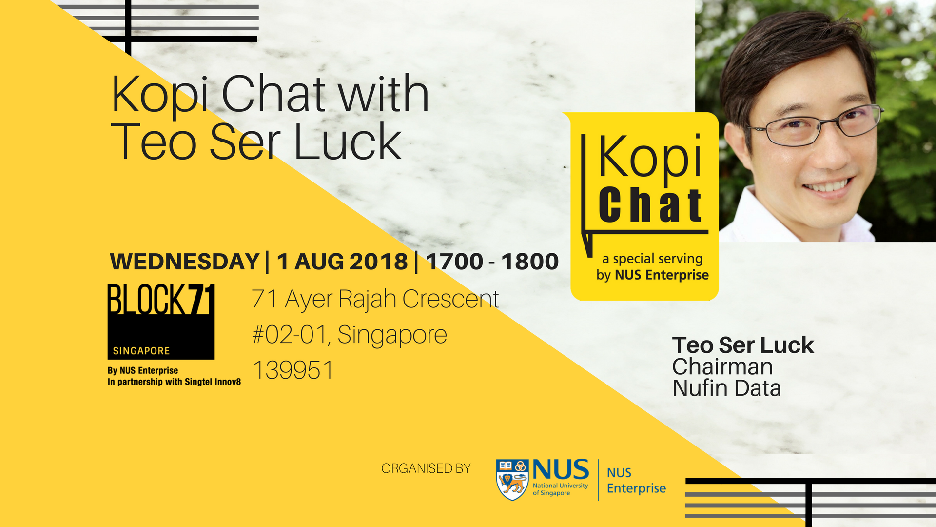Kopi Chat with Teo Ser Luck