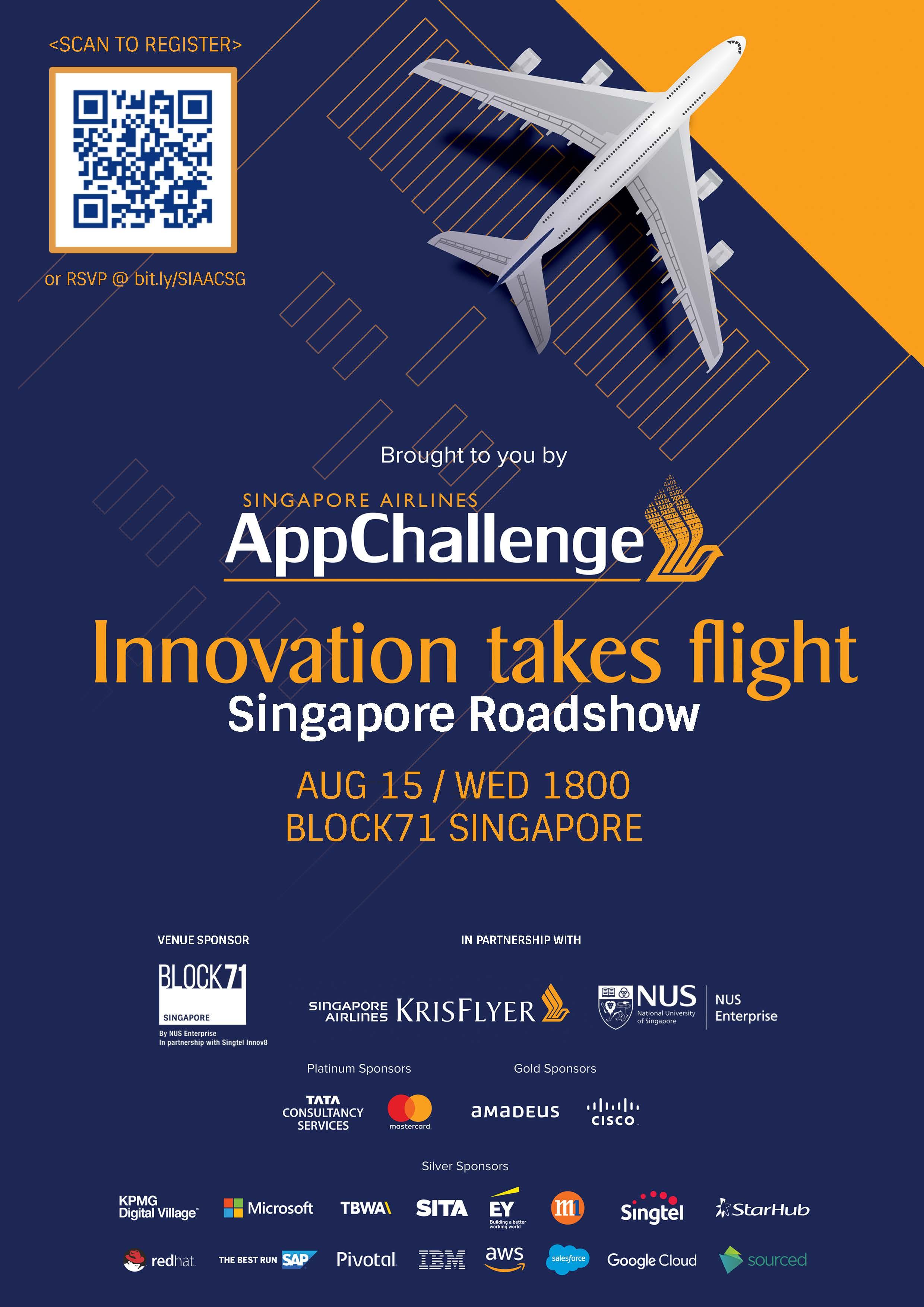 SIA AppChallenge Roadshow Registration, Singapore - EventNook