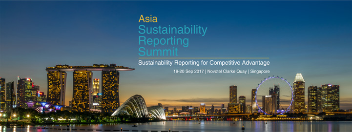 Asia Sustainability Reporting Summit 2017 Banner Image