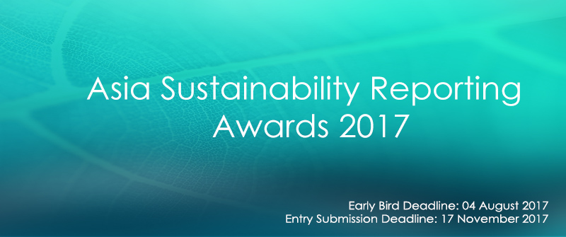 Asia Sustainability Reporting Awards Banner Image