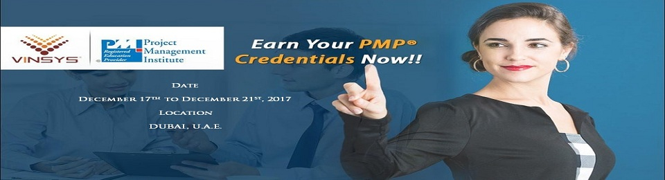 PMP® Certification Training in Dubai at Vinsys Registration, United ...