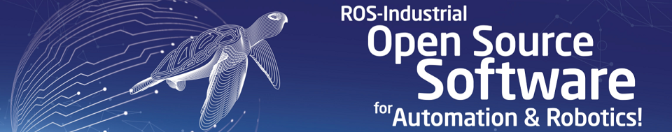 ROS-Industrial Developer's Training - Basic Banner Image